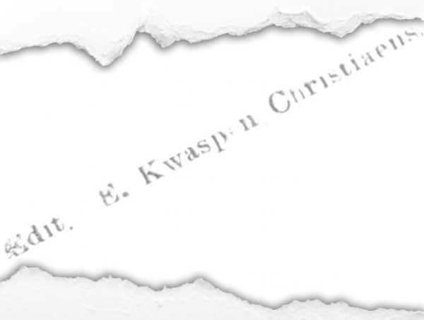 Edition E. Kwaspen - Christiaens