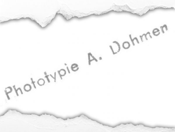 Phototypie A. Dohmen